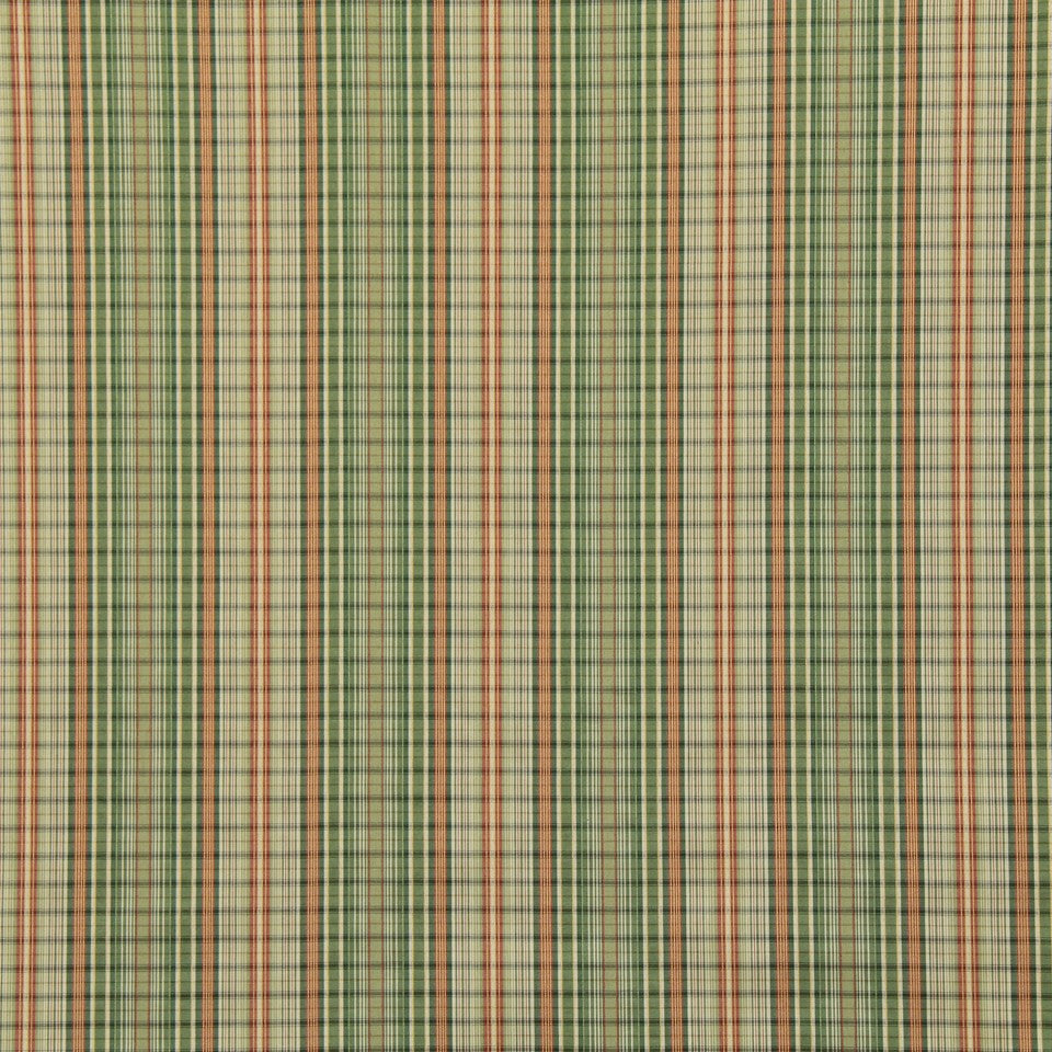 LEAF Tiny Plaid Fabric - Spring