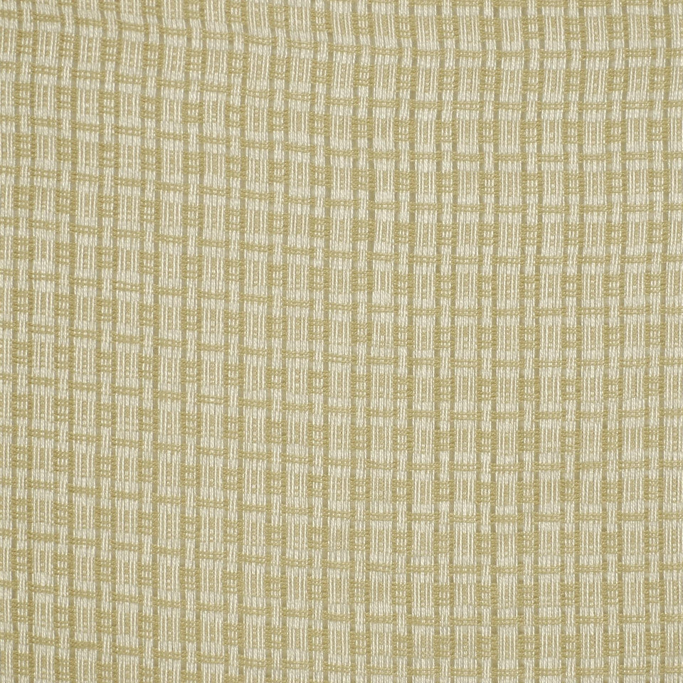 MOSIACS INDOOR/OUTDOOR Sheer Boxes Fabric - Sand Dollar