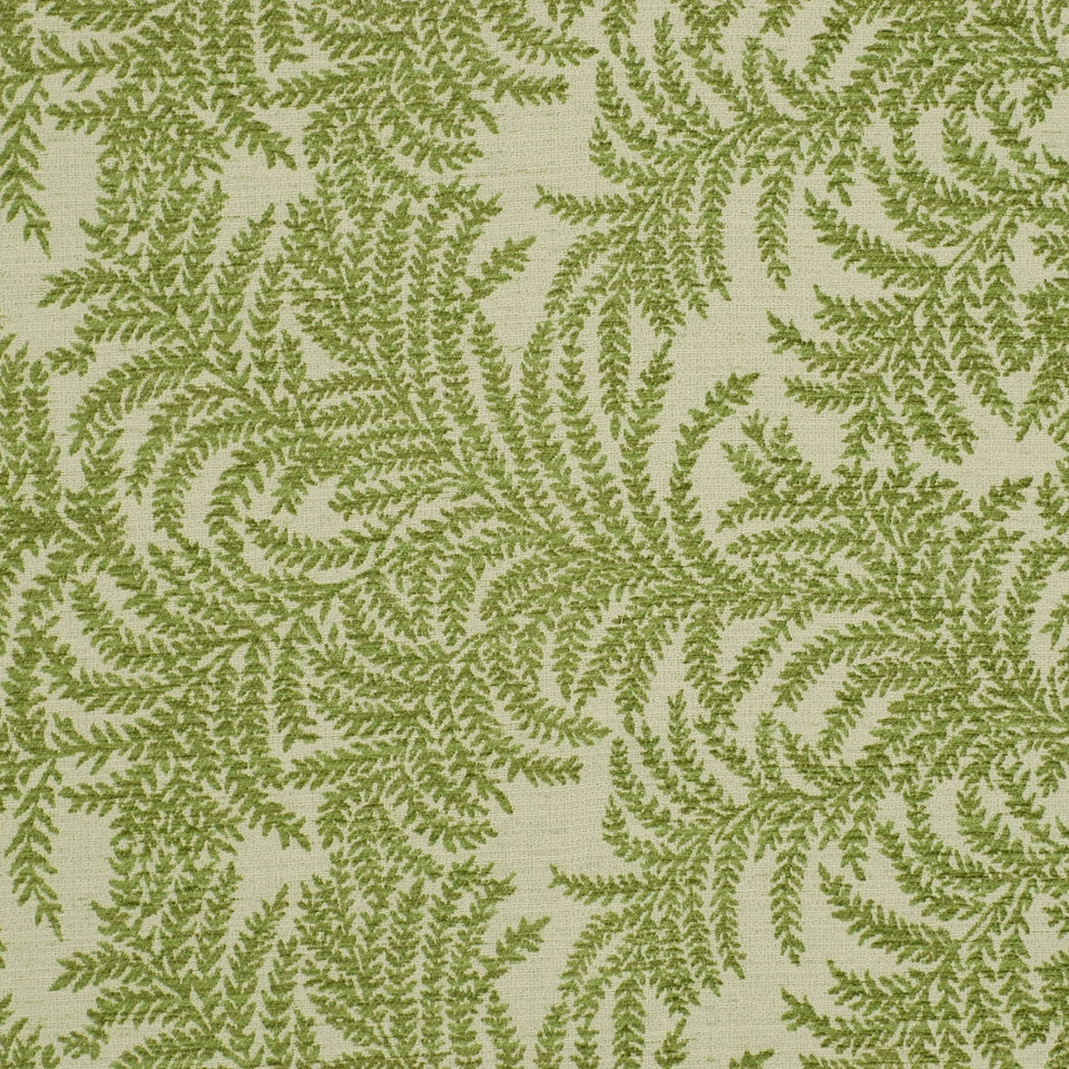 LEAF Fern Hollow Fabric - Leaf