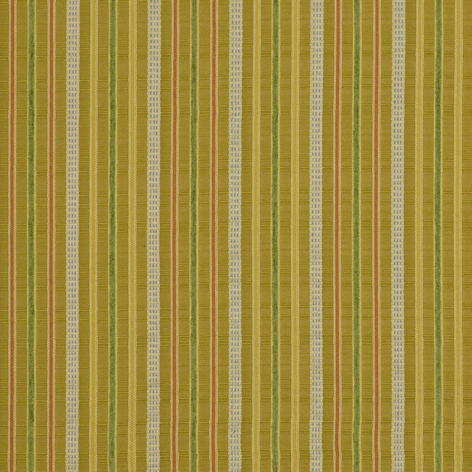 LEAF Lucky Stripes Fabric - Leaf