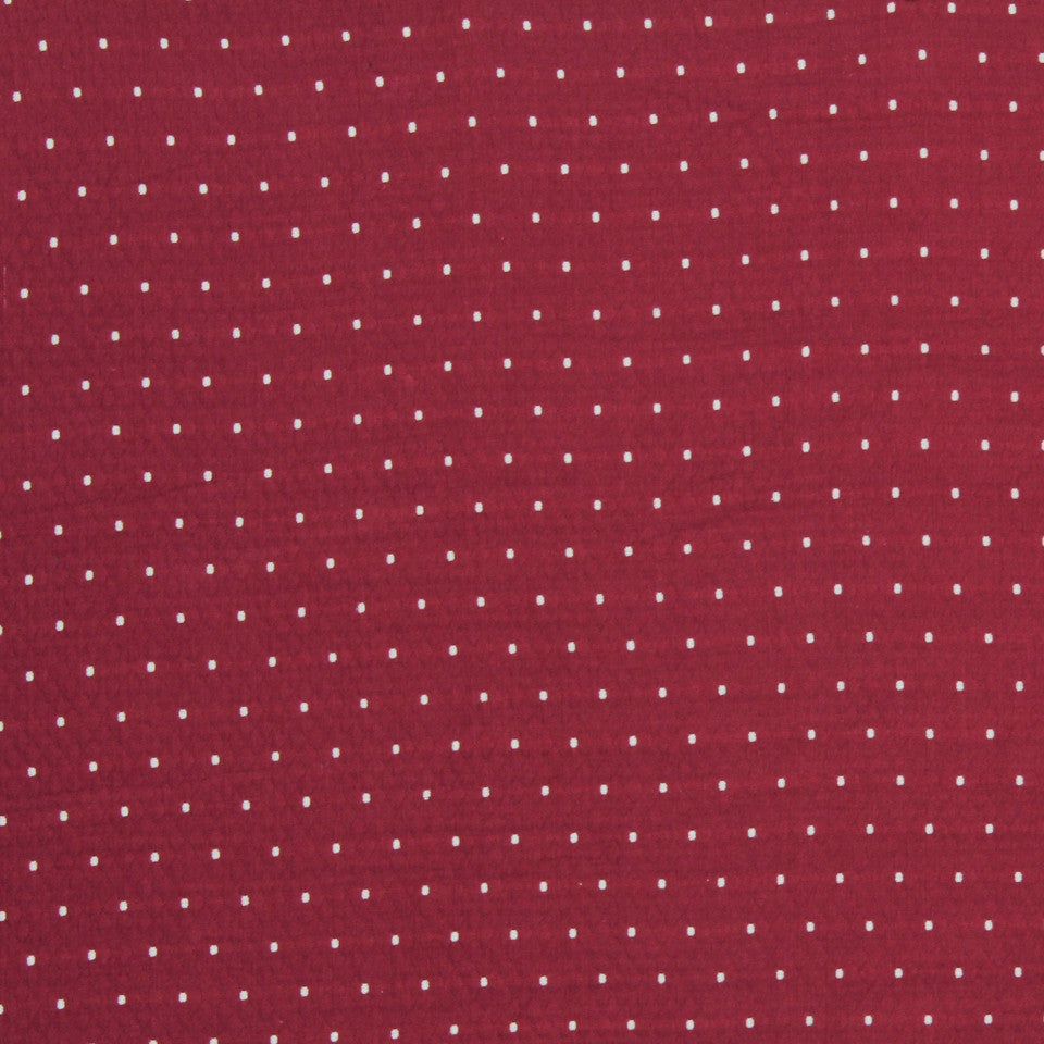 MATELASSES Diamas Dot Fabric - Zinnia