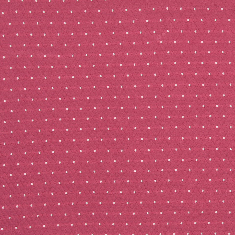 MANGO-PEONY-WATERMELON Diamas Dot Fabric - Tulip