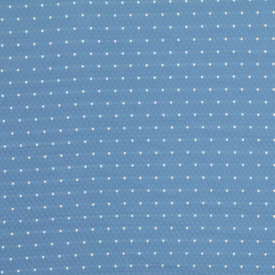MARINER-COASTAL-NAVY Diamas Dot Fabric - Chambray