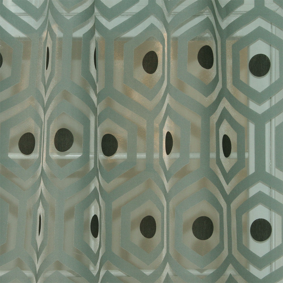 MODERN SHEERS Fine Point Fabric - Breeze