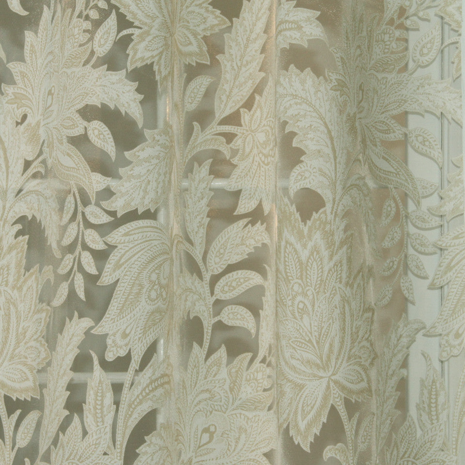 MODERN SHEERS Creamy Blend Fabric - Bamboo