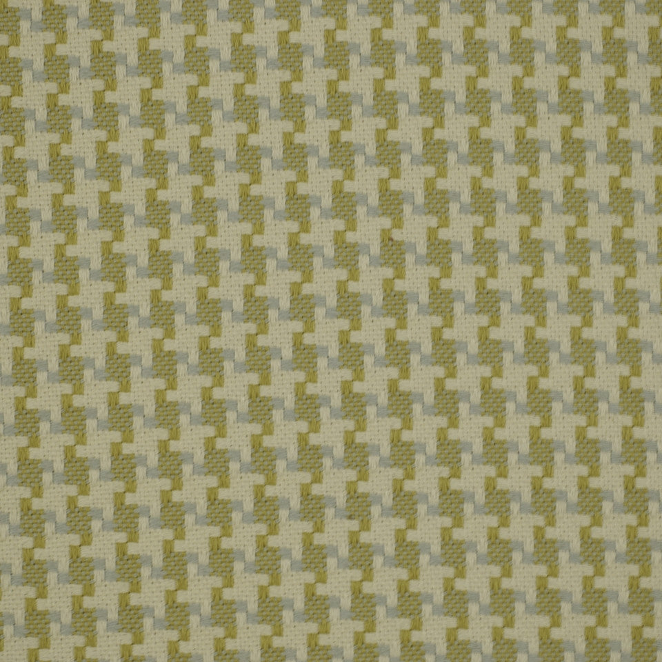 PEWTER-TOURMALINE-BLUEBELL Square Pegs Fabric - Mist