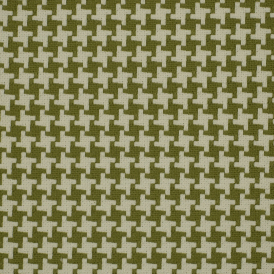 Square Pegs Fabric - Kiwi