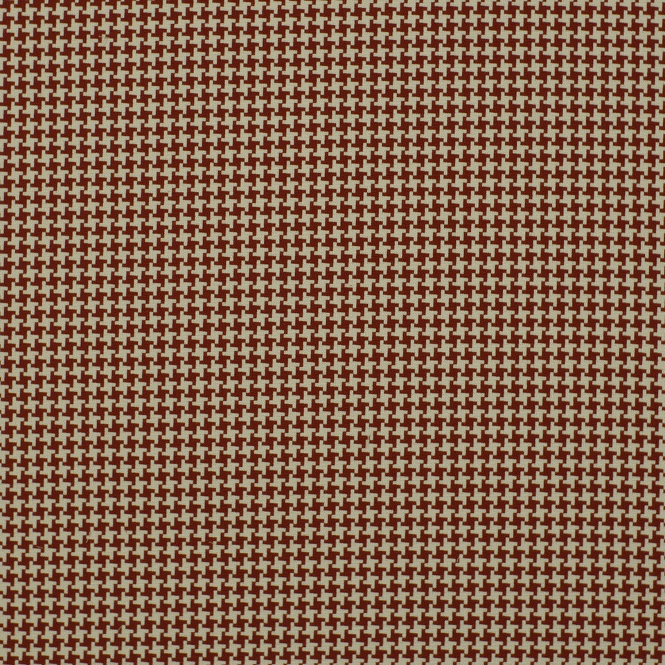 Square Pegs Fabric - Cherry