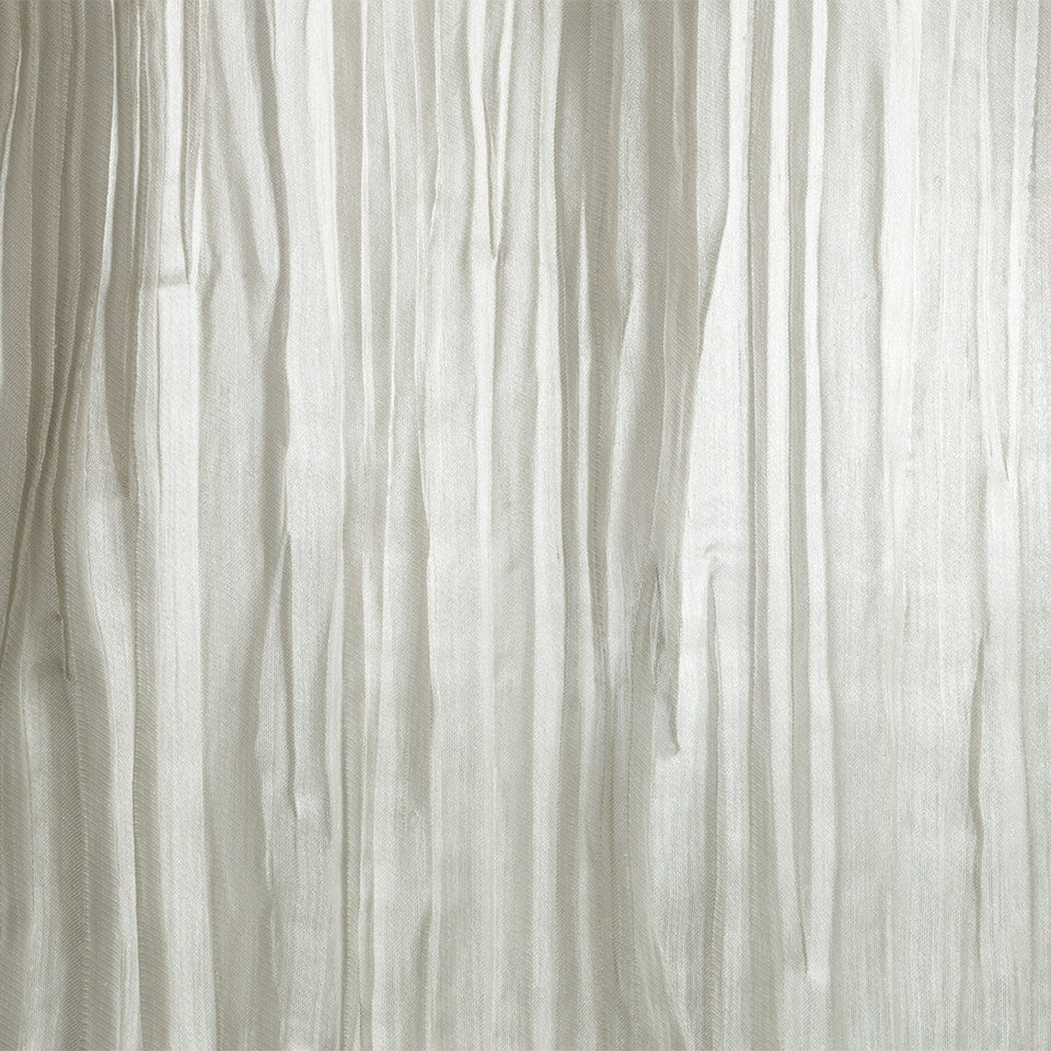 Lustrous Sheers Crinkle Cut Fabric - Silver