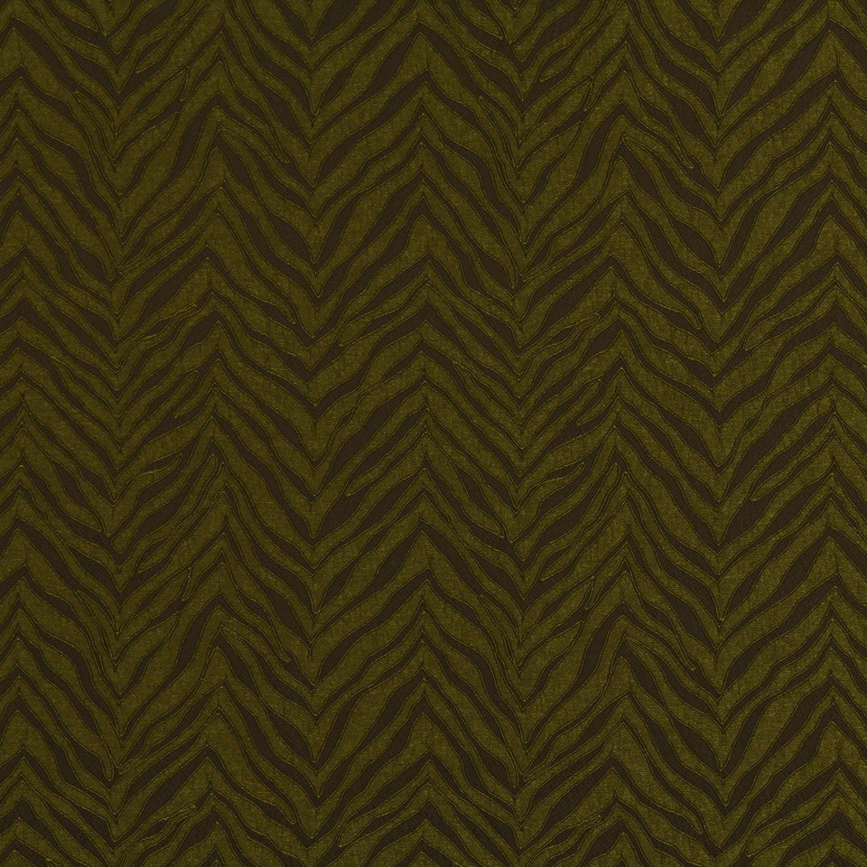 TOURMALINE-INDIGO-MULBERRY New Contours Fabric - Olive