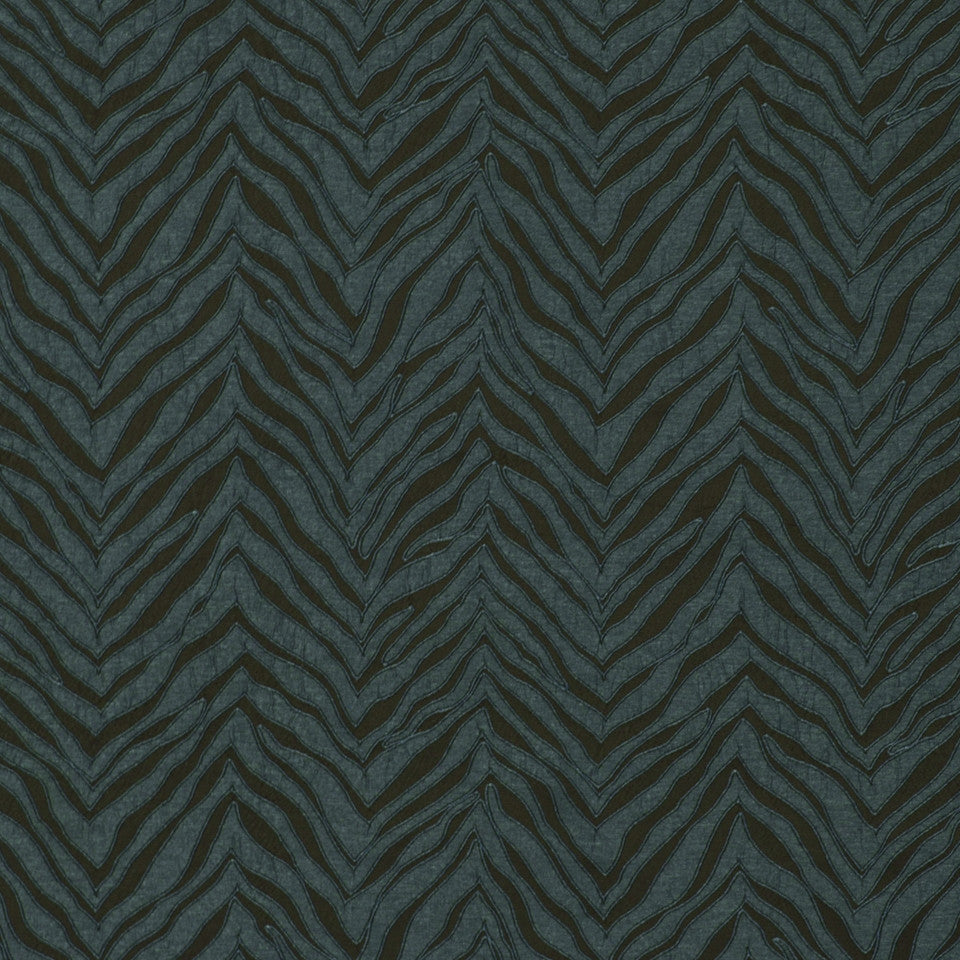 TOURMALINE-INDIGO-MULBERRY New Contours Fabric - Indigo