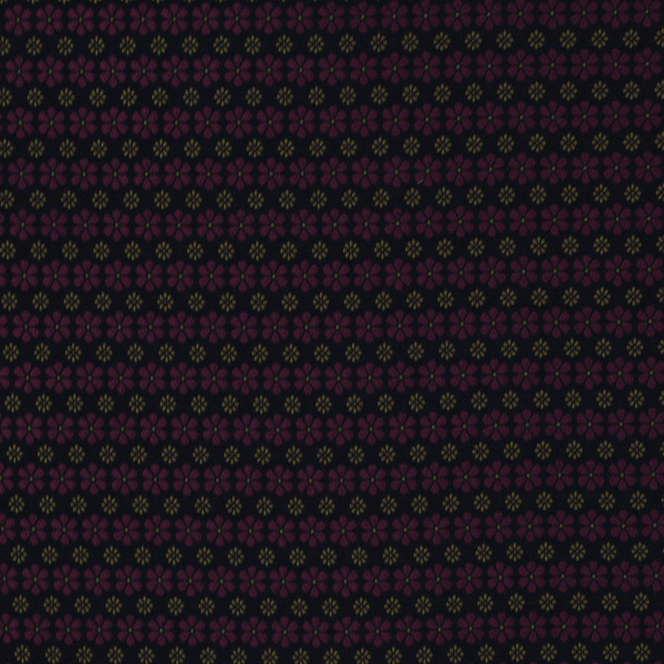 TOURMALINE-INDIGO-MULBERRY Shine Brightly Fabric - Mulberry