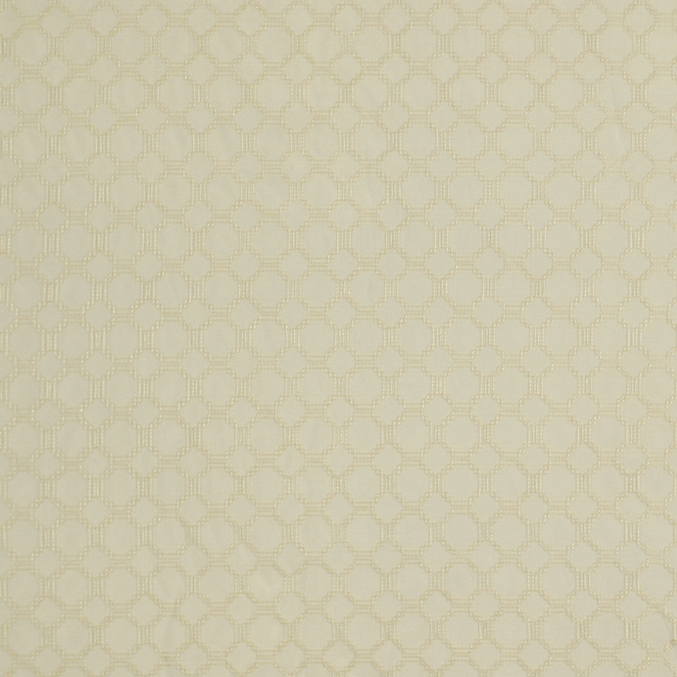 SERENE Sheer Delight Fabric - Eggshell