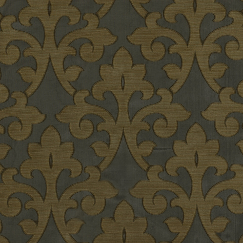 RUSTIC Harkness Fabric - Gilded