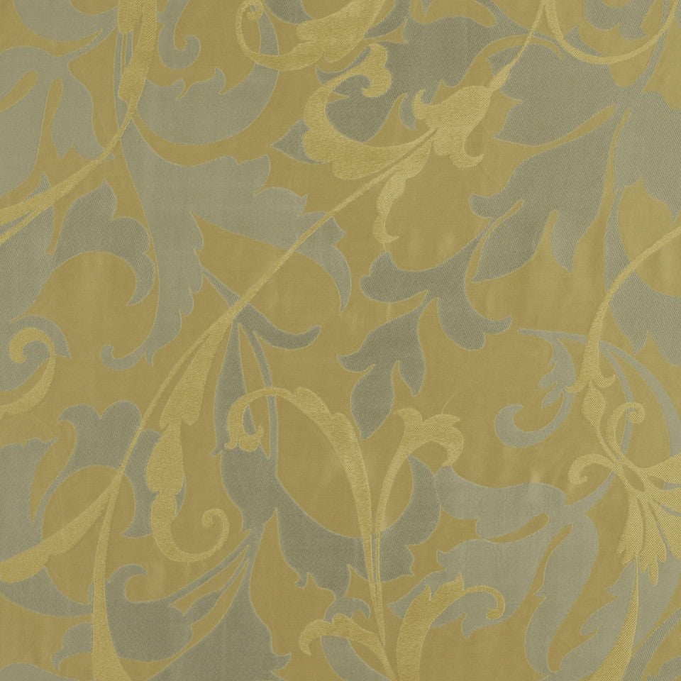 SERENE Titanias Scroll Fabric - Neptune