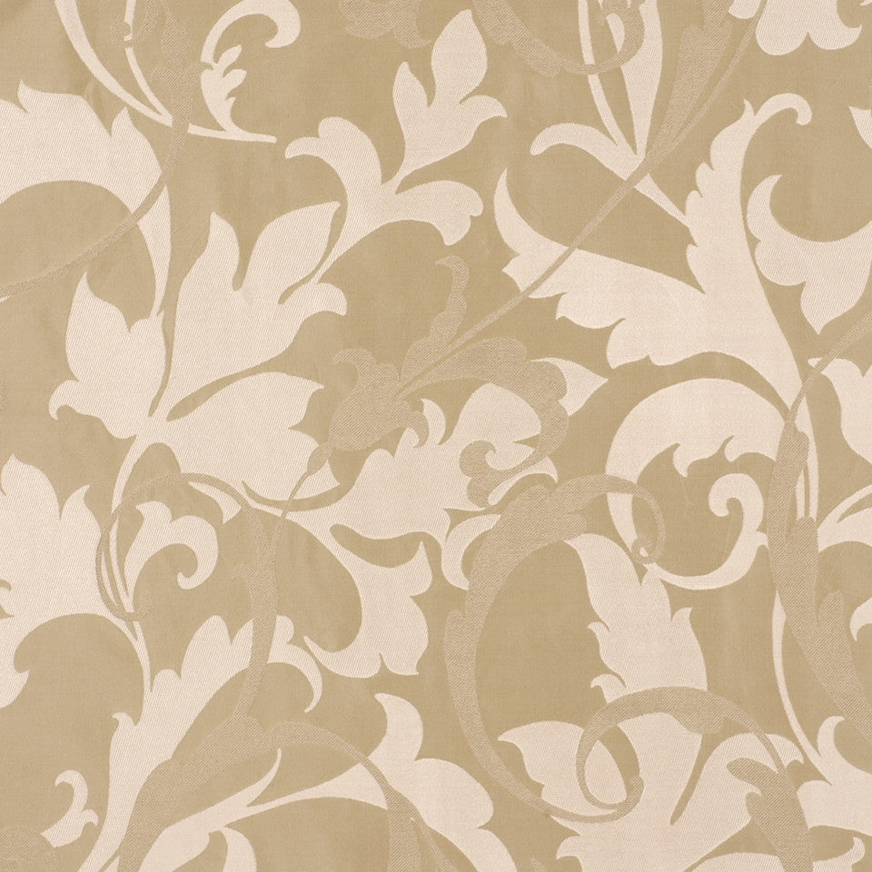 SERENE Titanias Scroll Fabric - Nugget