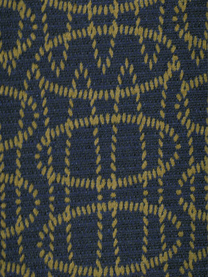 TOURMALINE-INDIGO-MULBERRY Dotted Loops Fabric - Indigo
