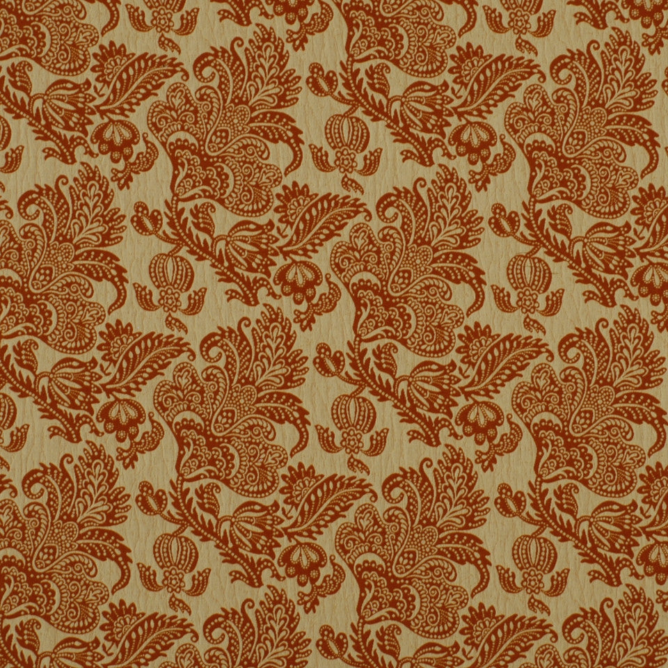 DOCKSIDE Sea Lace Fabric - Coral