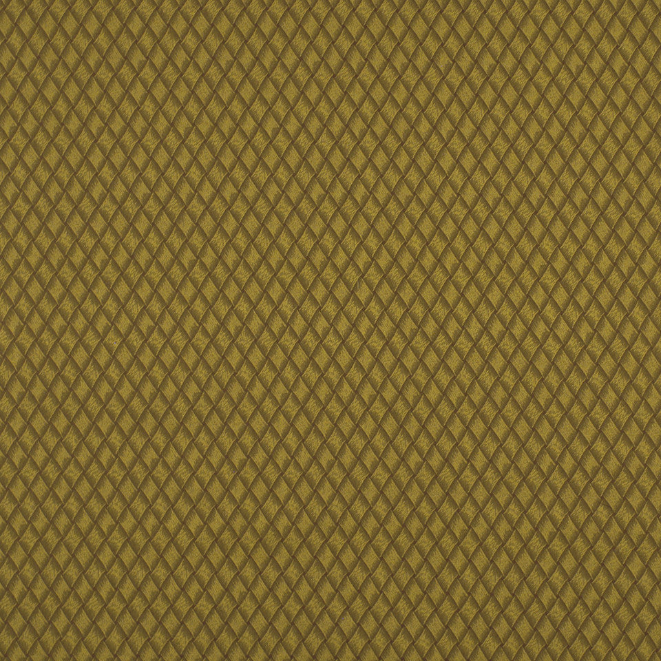 DOCKSIDE Basket Effect Fabric - Seaweed