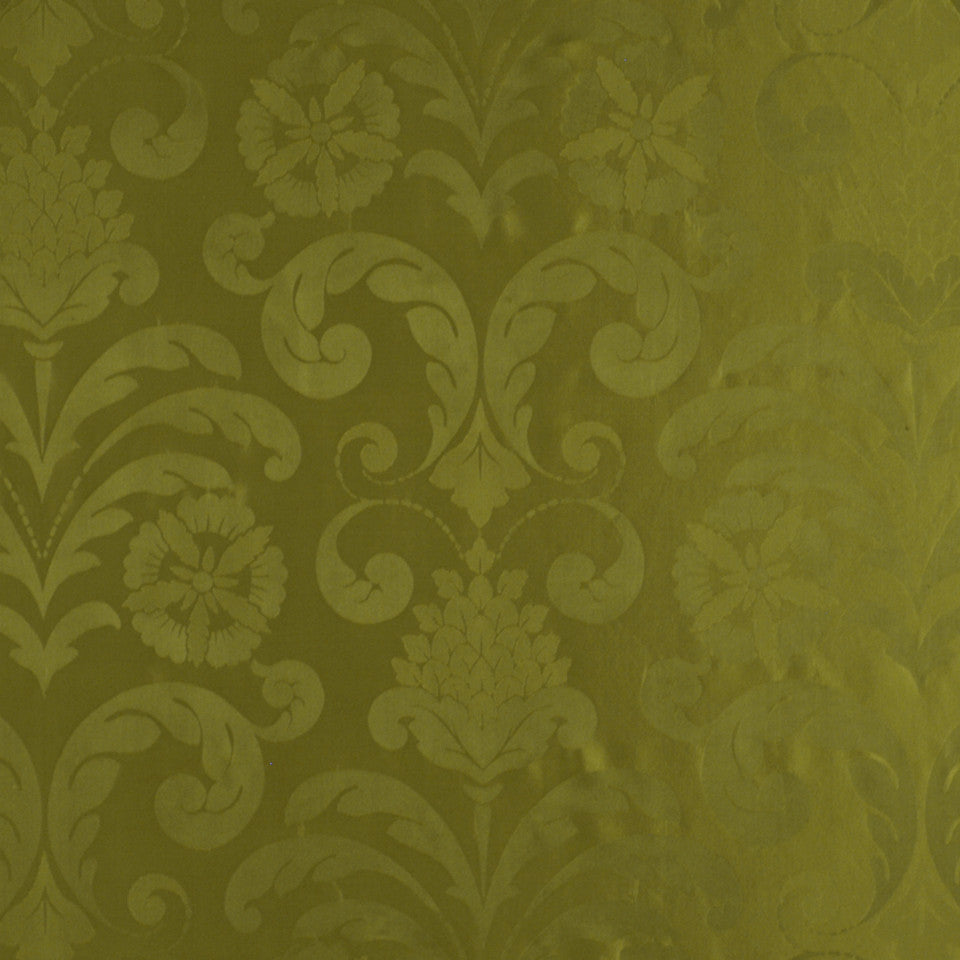 FALL Lady Slipper Fabric - Moss