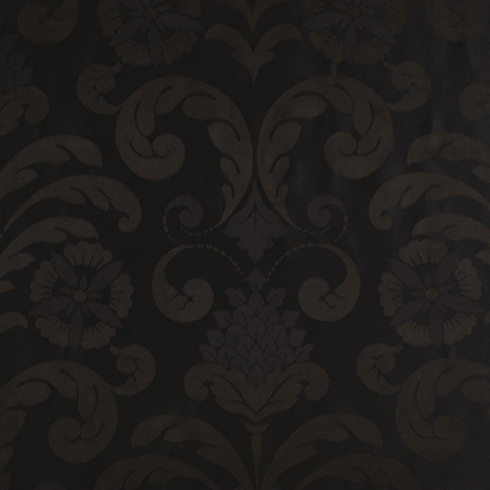 WINTER Lady Slipper Fabric - Midnight