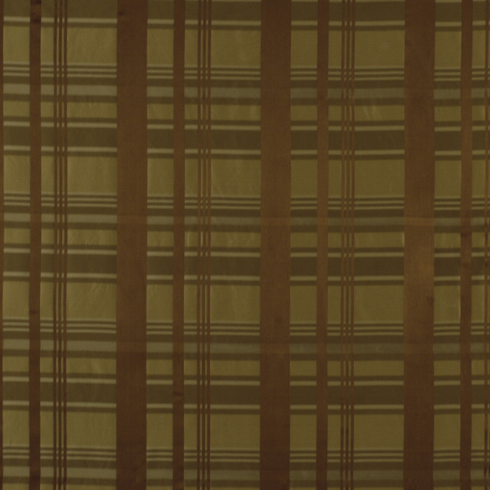 FALL Plaid Way Fabric - Cognac