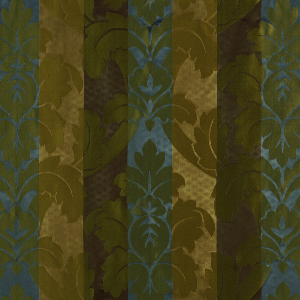 FALL Grand Leaves Fabric - Golden Espresso