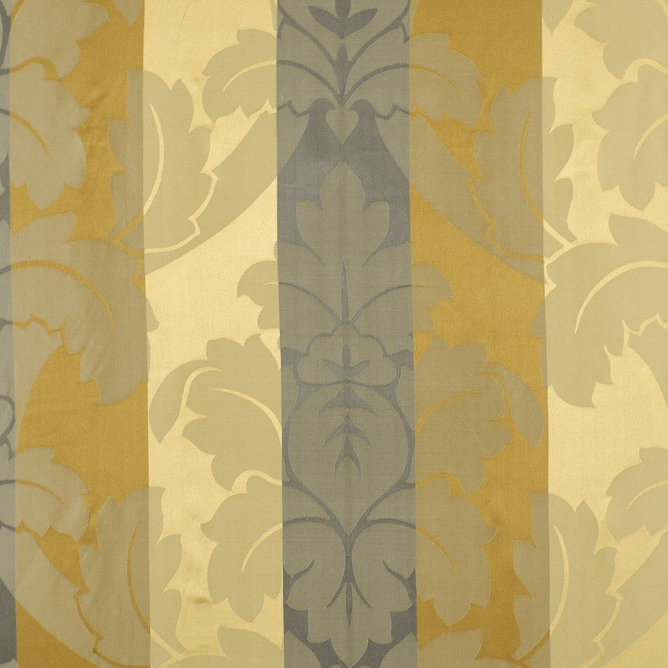 WINTER Grand Leaves Fabric - Slate Multi