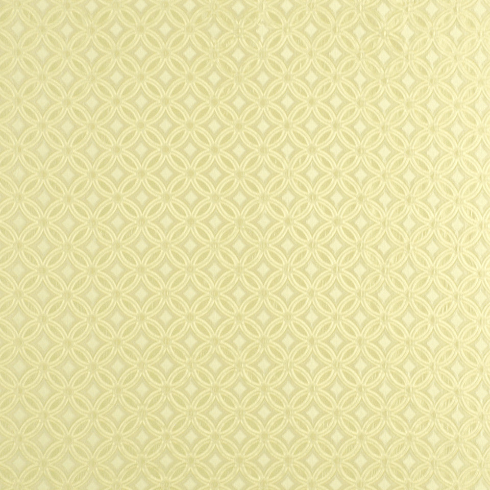 SUMMER Diamond Circle Fabric - Bisque