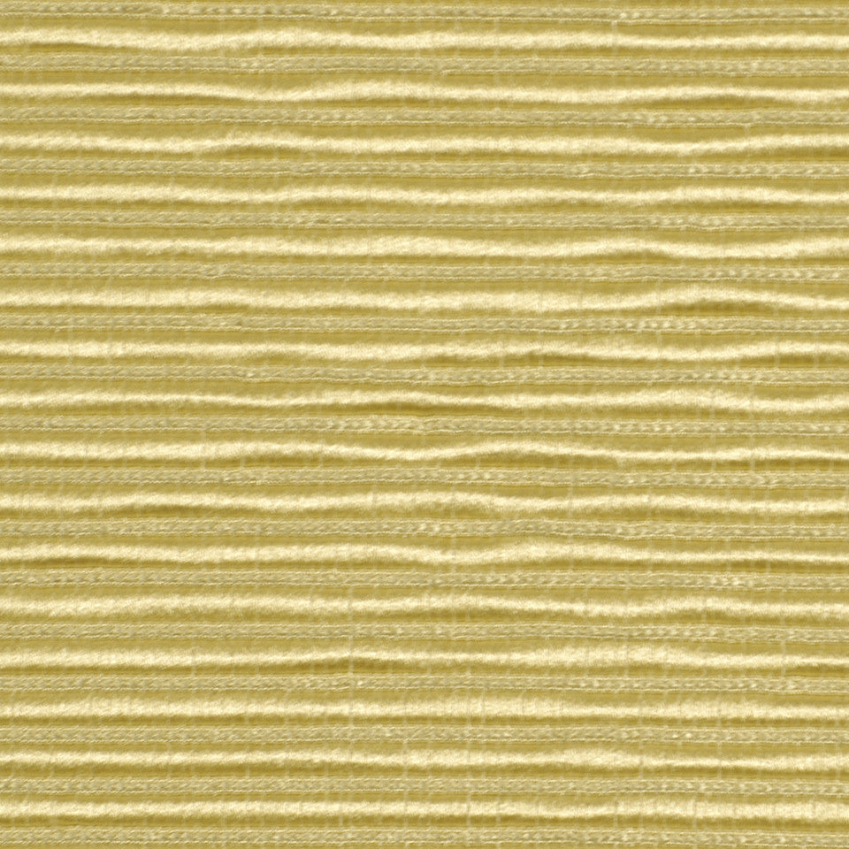 SPRING Ribbed Rows Fabric - Antique Gold