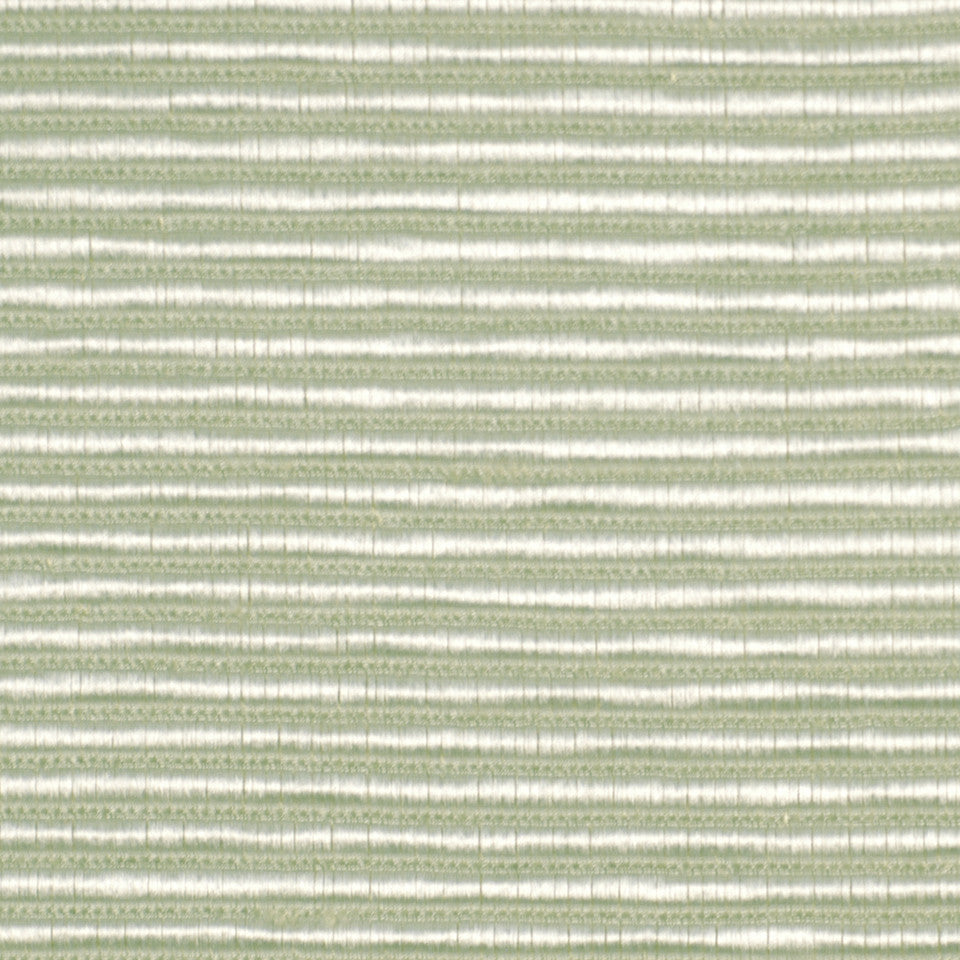 SILK SOLIDS Ribbed Rows Fabric - Ice