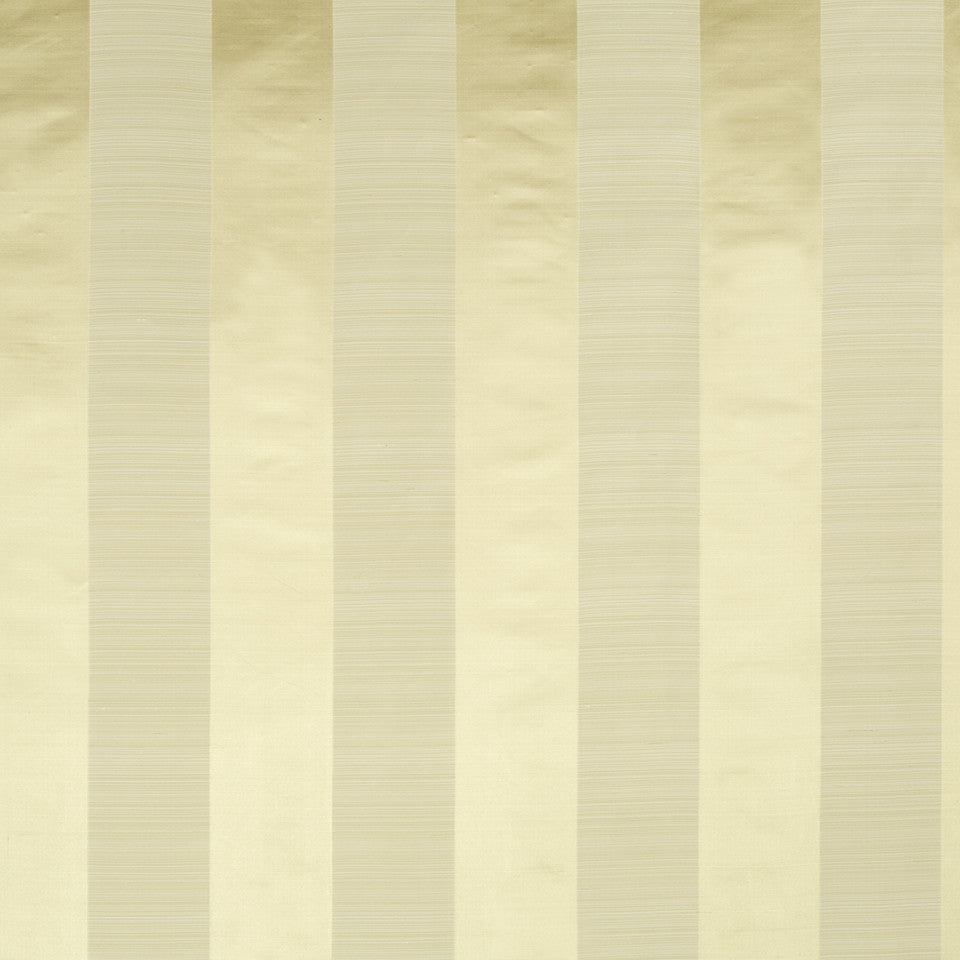 SILK STRIPES & PLAIDS Satin Smooth Fabric - Golden Straw