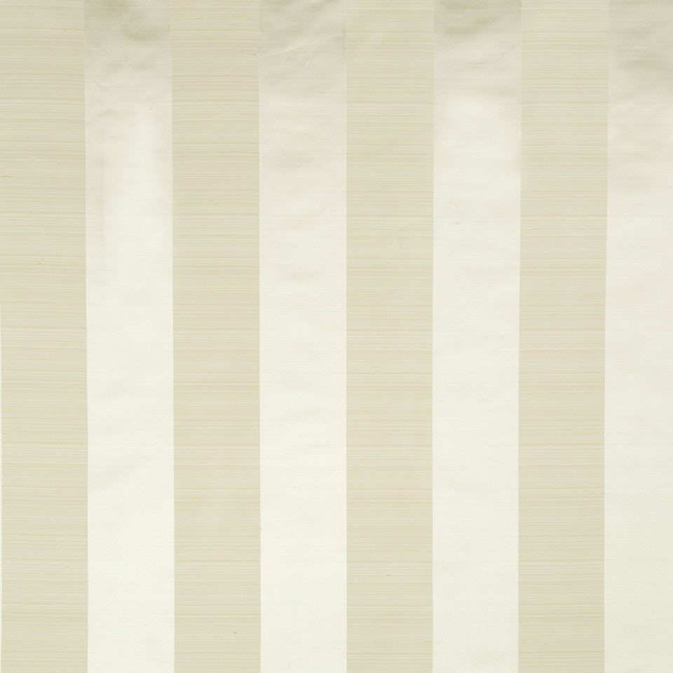 SILK STRIPES & PLAIDS Satin Smooth Fabric - Sesame