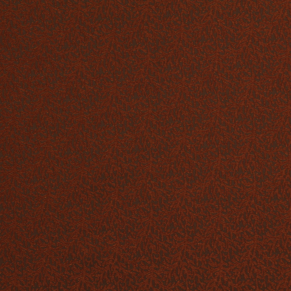 EXCURSIONS Modern Coral Fabric - Copper