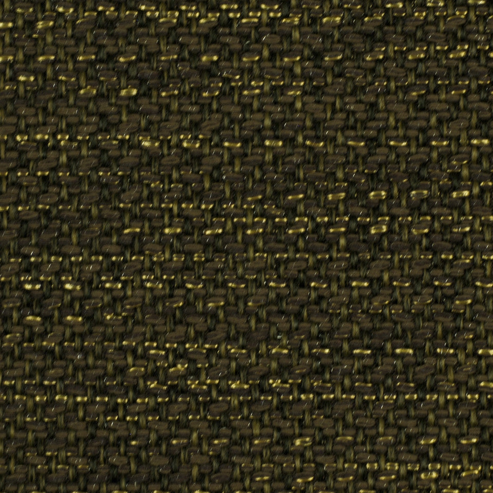 CORPORATE BINDER: UPHOLSTERY SOLIDS AND TEXTURES/ECO UPHOLSTERY II Metal Weave Fabric - Tobacco
