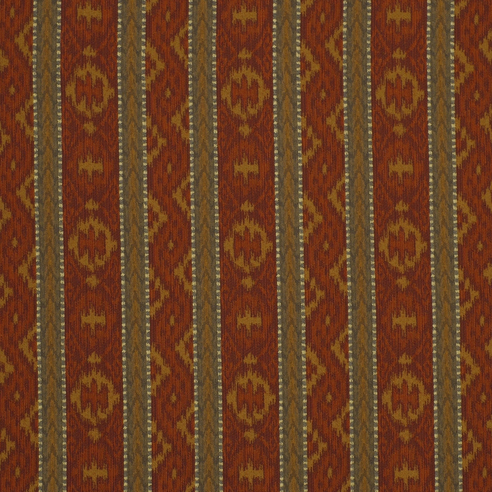 EXCURSIONS Sagittal Fabric - Copper