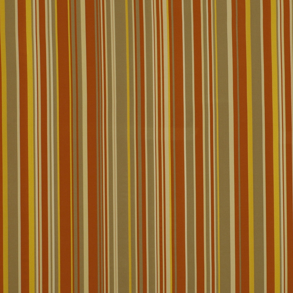 EXCURSIONS Clean Lines Fabric - Mandarin