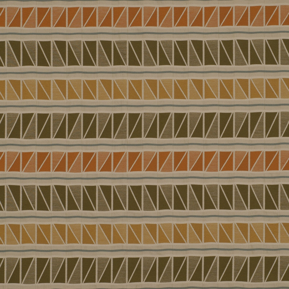 Savannah Way Fabric - Mandarin