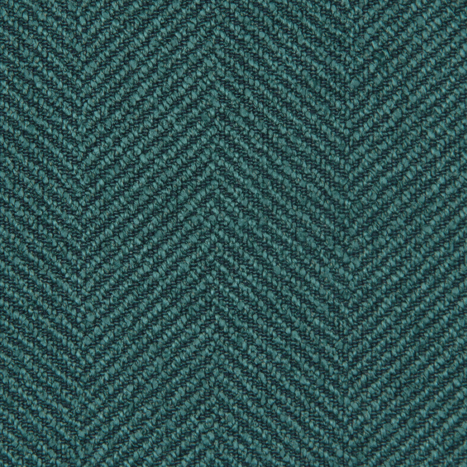 CRYPTON MODERN UPHOLSTERY Galway Fabric - Malachite