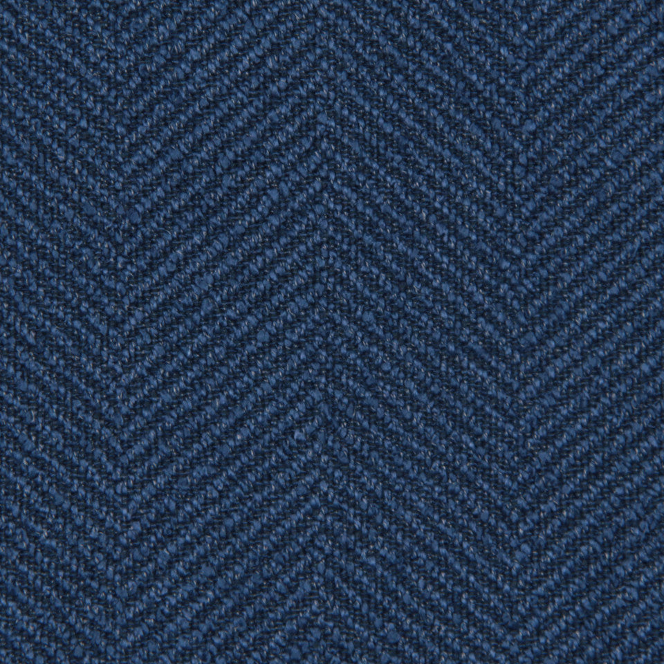 CRYPTON MODERN UPHOLSTERY Galway Fabric - Cobalt