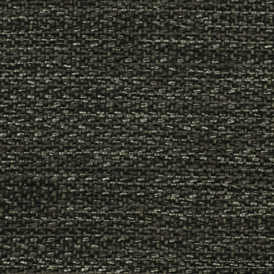 CORPORATE BINDER: UPHOLSTERY SOLIDS AND TEXTURES/ECO UPHOLSTERY II Metal Weave Fabric - Charcoal