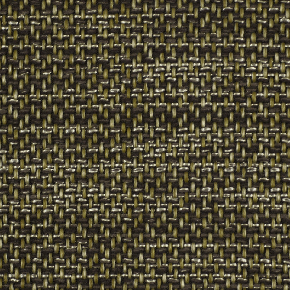 CORPORATE BINDER: UPHOLSTERY SOLIDS AND TEXTURES/ECO UPHOLSTERY II Metal Weave Fabric - Java