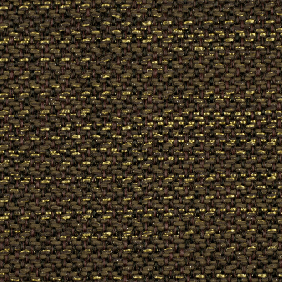CORPORATE BINDER: UPHOLSTERY SOLIDS AND TEXTURES/ECO UPHOLSTERY II Metal Weave Fabric - Mahogany