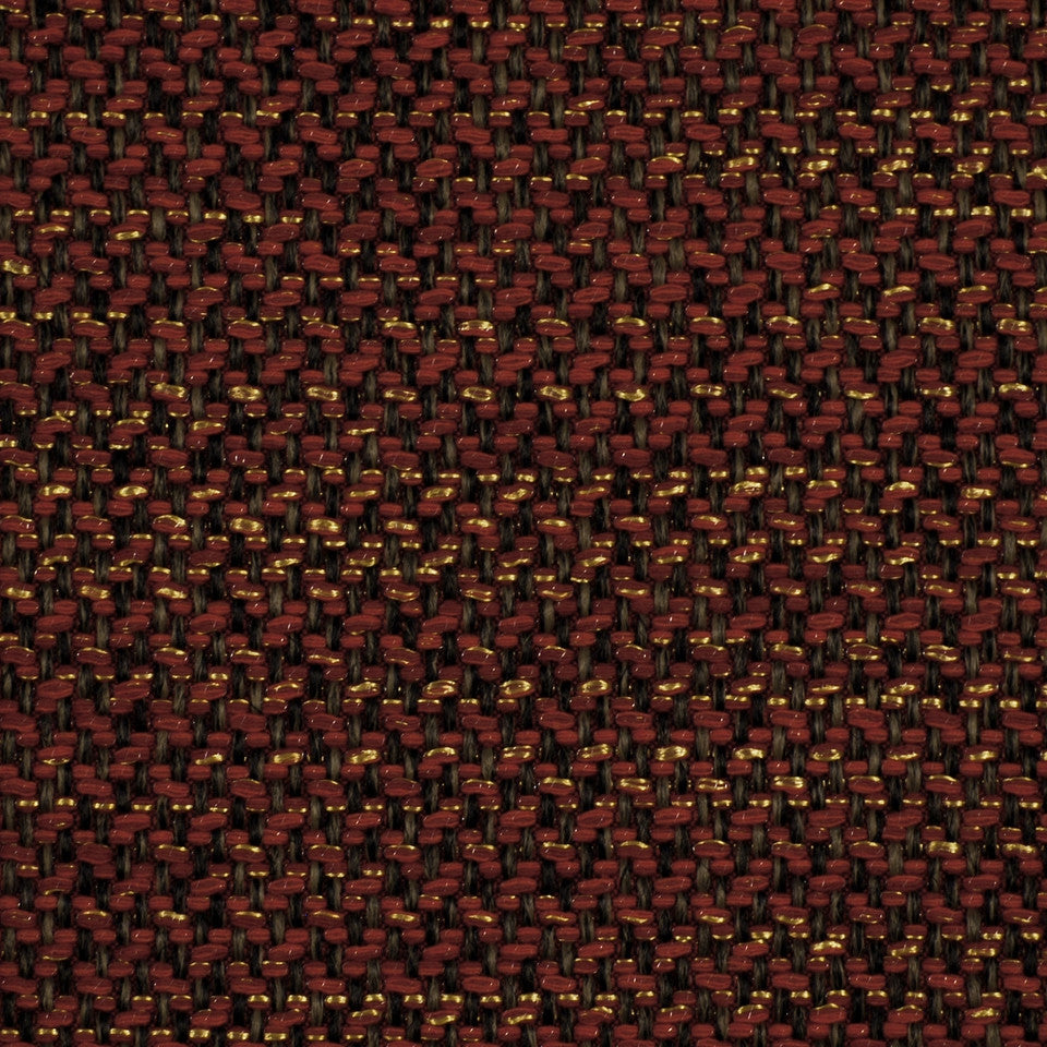 CORPORATE BINDER: UPHOLSTERY SOLIDS AND TEXTURES/ECO UPHOLSTERY II Metal Weave Fabric - Flame