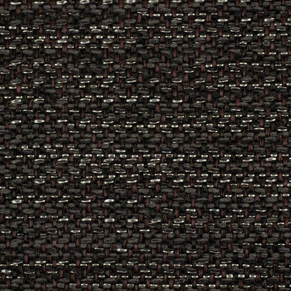 CORPORATE BINDER: UPHOLSTERY SOLIDS AND TEXTURES/ECO UPHOLSTERY II Metal Weave Fabric - Graphite