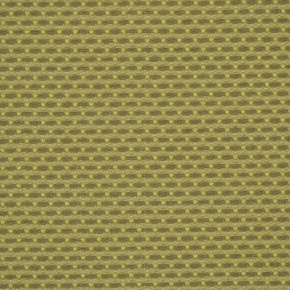 CORPORATE BINDER: UPHOLSTERY SOLIDS AND TEXTURES/ECO UPHOLSTERY II Basket Stitch Fabric - Hay