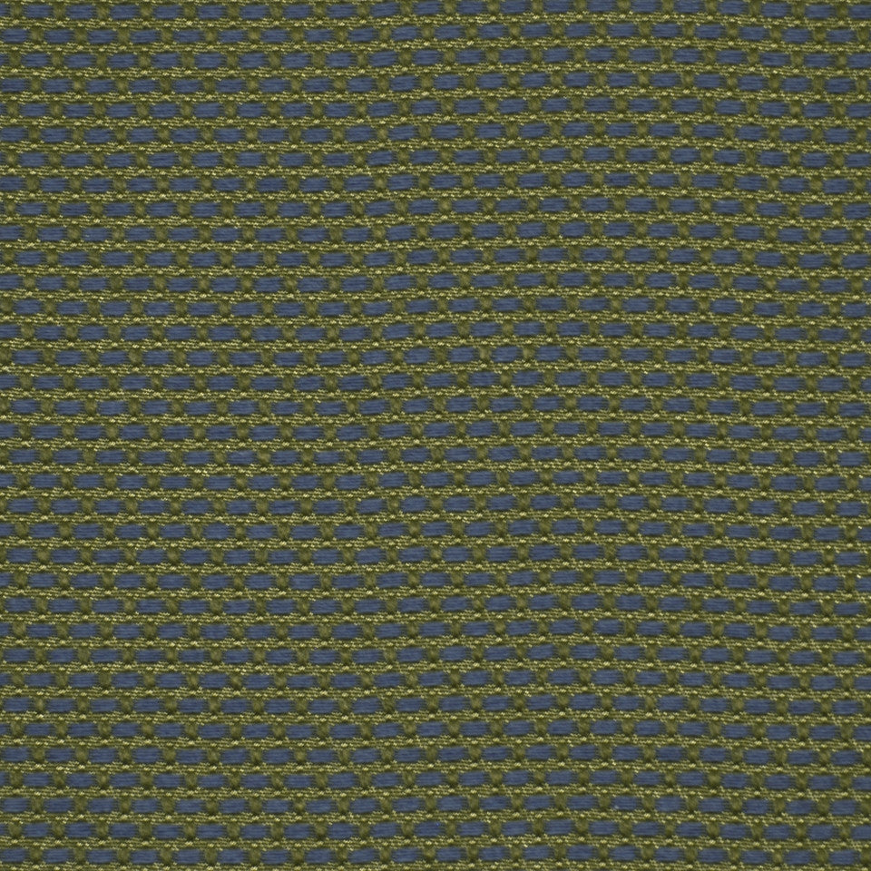 CORPORATE BINDER: UPHOLSTERY SOLIDS AND TEXTURES/ECO UPHOLSTERY II Basket Stitch Fabric - Slate Blue