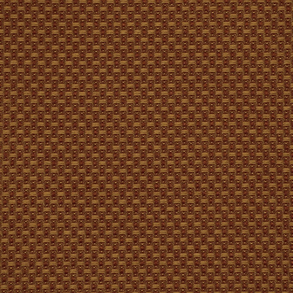 CORPORATE BINDER: UPHOLSTERY SOLIDS AND TEXTURES/ECO UPHOLSTERY II Basket Stitch Fabric - Clay