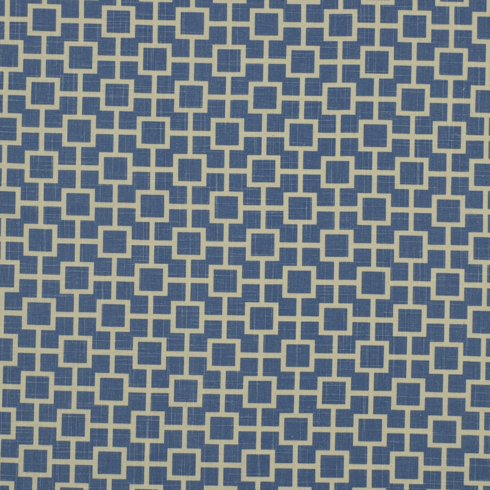 PEWTER-TOURMALINE-BLUEBELL Cats Cradle Fabric - River