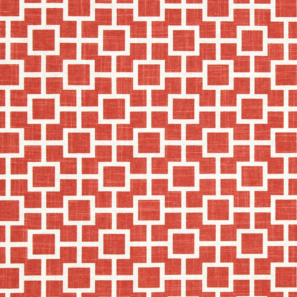 CORAL REEF Cats Cradle Fabric - Papaya